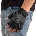 SWAT プロテクトタイプグローブ フィンガーレス ブラック Mサイズ