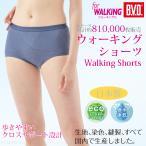 Yahoo!B.V.D.e-shop メーカー直営店BVD レディース ウォーキング クロス サポート 1分丈ショーツ/スポーツ/ジョギング/エクササイズ/お腹押え