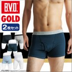 ショッピングLL 2枚セット BVD GOLD ボクサーブリーフ LL/メンズインナー/日本製/綿100%