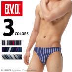 BVD ビキニ ブリーフ ランダムストライプ メンズ/アンダーウェア/