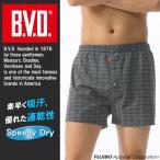 吸水速乾ニットトランクス BVD オンブレチェック M,L,LL メンズインナー アンダーウェア