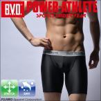 ハーフスパッツ BVD POWER-ATHLETE スポーツアンダーウェア タイツ 吸水速乾
