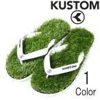カスタム Kustom メンズ KEEP ON THE GRASS ビーチサンダル ba208550