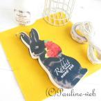メモパッド/黒ウサギのメモパッド