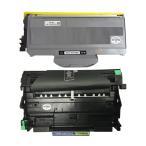 ブラザー DR-21J + TN-26J セット brother 互換ドラムユニット・トナーカートリッジ 製造番号(シリアルNo有り)  印刷