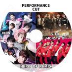 K-POP DVD/HERO OF REMIX PERFORMANCE CUT/IKON VIXX MONSTA X LIVE KPOP DVD