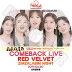 K-POP DVD/RED VELVET 2019 COMEBACK LIVE(2019.06.20) ZIMZALABIM NIGHT(日本語字幕あり)/レッドベルベット アイリーン スルギ ウェンディ..