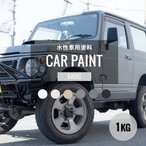 自動車用 水性塗料 塗装 ペンキ 艶無し 艶消し 1kg ベーシックカラー カーペイント ディッピンペイント Car Paint Dippin' Paint JQ