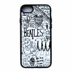 iPhone7ケース The Beatles ビートルズ quotes  Abbey Road アビーロード ビートルズ アイフォン7用ケース サイドシリコンラバー