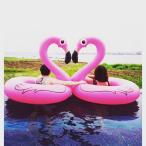 浮き輪 大人用 120 浮輪 フロート フラミンゴ プール 海 レジャー ビーチ 水遊び 夏休み