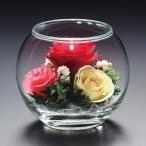 プリザーブドフラワー ピュアフラワー(バラ:ミックス ガラスドーム) 誕生日 記念日 母の日 ギフト プレゼント