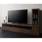 キャビネットが選べるテレビボードシリーズ add9 アドナイン 2点セット(テレビボード+キャビネット) ガラス扉 W180[L][00]