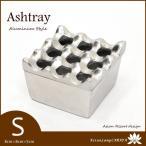 アジアン 古木&アルミ 灰皿 (S) MET-0018  アジアン雑貨 バリ雑貨 アジアン家具 アッシュトレイ