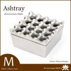 アジアン 古木&アルミ 灰皿 (M) MET-0019  アジアン雑貨 バリ雑貨 アジアン家具 アッシュトレイ