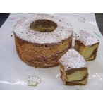 【シフォンケーキ】チョコとバニラのシフォンケーキ直径18cm