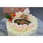 昔ながらのバタークリームのクリスマスケーキ5号