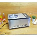 ショッピングアイスクリーム アイスクリームメーカー コンプレッサー内蔵 2.0L Whynter ICM-200LS Stainless Steel Ice Cream Make