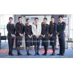 JAL「JAL CABIN ATTENDANT」(卓上判) 2021年 卓上カレンダー CL1118