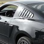 2010-2014y フォード マスタング 純正サイドウインドルーバー