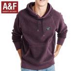 Abercrombie & Fitchアバクロンビーアンドフィッチ正規品メンズ フリースプルオーバーパーカー