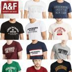 アバクロ Tシャツ 正規 メンズ Abercrombie & Fitch