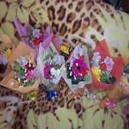 可愛らしい色とりどりのミニブーケ花束を【10束からのご注文で☆1束¥735円花束(*^_^*)】