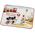 ブランケット(ミッキーマウス&ミニーマウス) 約100cm×70cm 毛布 ひざ掛け Shinzi Katoh(シンジカトウ) ディズニー おしゃれ かわいい
