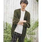 【CAMBIO(カンビオ)】Middle Gauge Loose Knit Cardigan カーディガン