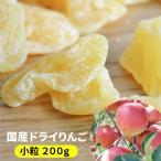 りんご 訳あり 送料無料 【国産 ドライりんご (小粒)
