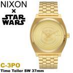 エントリーでP6倍 ニクソン NIXON  スターウォーズ 限定 コラボモデル C-3PO タイムテラー ゴールド メンズ レディース 腕時計