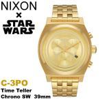 ニクソン NIXON  スターウォーズ 限定 コラボモデル C-3PO タイムテラー クロノグラフ ゴールド メンズ 腕時計