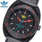 【ADIDAS】アディダス STAN SMITH スタンスミス 腕時計 ユニセックス シリコン アクリルプラスティック スポーツ ブランド ブラック トリカラー ADH3163