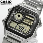 エントリーでポイント最大15倍 CASIO カシオ デジタルウォッチ 腕時計 メンズ ワールドタイム 10気圧防水 AE-1200WHD-1AVDF 海外モデル
