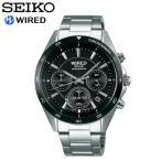 seiko セイコー WIRED ワイアード 腕時計 ウォッチ メンズ 男性用 ソーラー 10気圧防水 クロノグラフ agad087