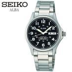 エントリーでP10倍 SEIKO ALBA セイコー アルバ 腕時計 チタン メンズ ウォッチ カレンダー 20気圧防水 男性用 APBT207