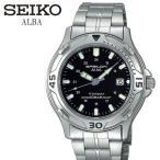 7%OFFクーポンあり SEIKO ALBA セイコー アルバ 腕時計 チタン メンズ ウォッチ カレンダー 10気圧防水 男性用 ASSX007