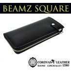 BEAMZ SQUARE コードバンLファス長財布 BS1280
