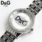 D&G ドルチェ&ガッバーナ プライムタイム メタル ラインストーン 腕時計DW0133