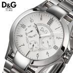 D&G ドルチェ&ガッバーナ ドルガバ メンズ 腕時計 ホワイト DW0538 ディーアンドジー D&G ドルガバ