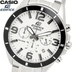 ショッピングCASIO casio EDIFICE カシオ エディフィス クオーツ 腕時計 メンズ クロノグラフ ストップウォッチ 10気圧防水 ステンレス ウォッチ EFR553D7B
