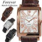 Forever フォーエバー メンズ腕時計 ダイヤモンド シェル文字盤 FG-330