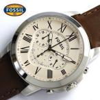 FOSSIL フォッシル 腕時計 メンズ  クロノグラフ 革ベルト 腕時計 FS4735