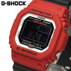 エントリーで10%還元 G-SHOCK CASIO カシオ 腕時計 Gショック 電波ソーラー メンズ ブラック レッド GW-M5610RB-4ER