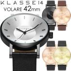 KLASSE14 クラス14 腕時計 メンズ 42mm 革ベルト レザー クラスフォーティーン クラッセ