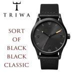 TRIWA トリワ SORT of BLACK 腕時計 ウォッチ メンズ レディース ユニセックス クオーツ 5気圧防水 last110-cl010113