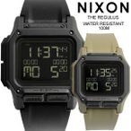 正規品 NIXON ニクソン REGULUS レグリス 腕時計 メンズ ラバーベルト ウォッチ デジタル A1180001-00 A11802711-00