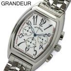 【グランドール GRANDEUR】 腕時計 メンズ クロノグラフ OSC035W1 ホワイト