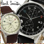 PAUL SMITH ポールスミス メンズ 男性用 腕時計 ウォッチ クオーツ 3気圧防水 スモールセコンド クロノグラフ ps10