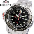 ORIENT オリエント エムフォース 腕時計 メンズ 自動巻き 20気圧防水 カレンダー 蓄光(針、インデックス) ブラック ステンレス SEL06001B0