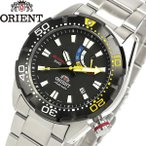 エントリーでP10倍 ORIENT オリエント M-FORCE エムフォース 腕時計 ウォッチ メンズ 自動巻き 200M空気潜水用防水 SEL0A001B0 国内品番WV0181EL